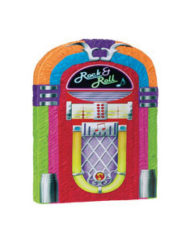 50s Rock and Roll Music Jukebox Pinata-0