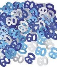 60th Blue Birthday Confetti-0