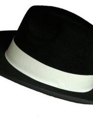 Al Capone Hat Black -0