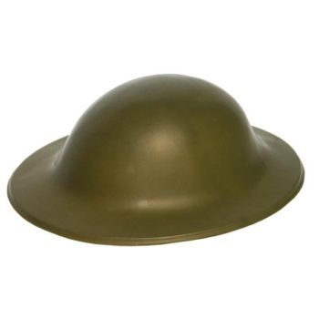 ARMY HELMET/TOMMY HAT, PLASTIC-0
