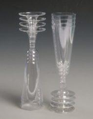 Plastic Champagne Flutes/Glasses-0