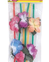 Flower Straws x 6-0