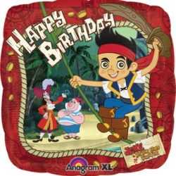 Jake & the Never Land Pirates Happy Birthday Foil Balloon-0