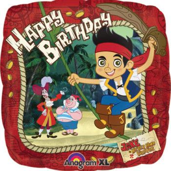 Jake & the Never Land Pirates Happy Birthday Foil Balloon-0