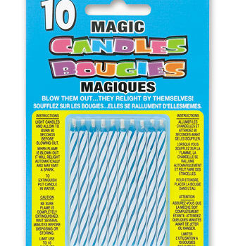 Magic Candles Blue-0