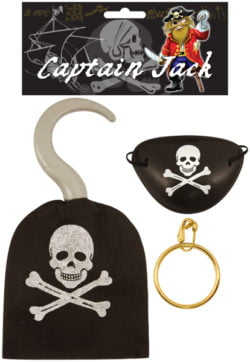 Pirate Hook/eye Patch/earring-0