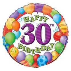 30th Birthday Foil Balloon-0