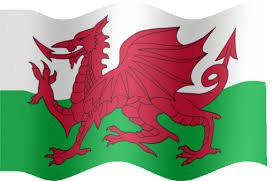 Welsh Dragon Flag 5' x 3' (Polyester)-0