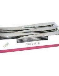Metallic Silver Plastic Knives x 50-0