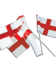St George's Plastic handwaving flag -0