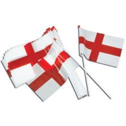 St George's Plastic handwaving flag -0