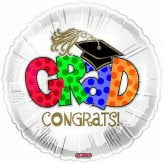 Congratulations Graduation Foil Balloon-0