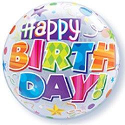 Happy Birthday Bubble Balloon-0