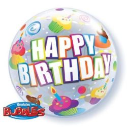 Happy Birthday Bubble Balloon-0