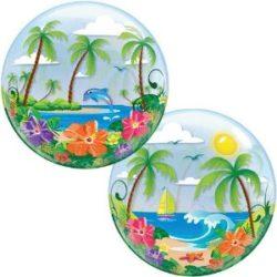 Tropical Beach Bubble Balloon-0