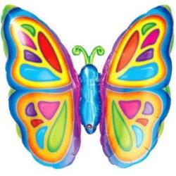 Butterfly Supershape Foil Balloon-0