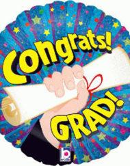 Congrats Grad Foil Balloon-0