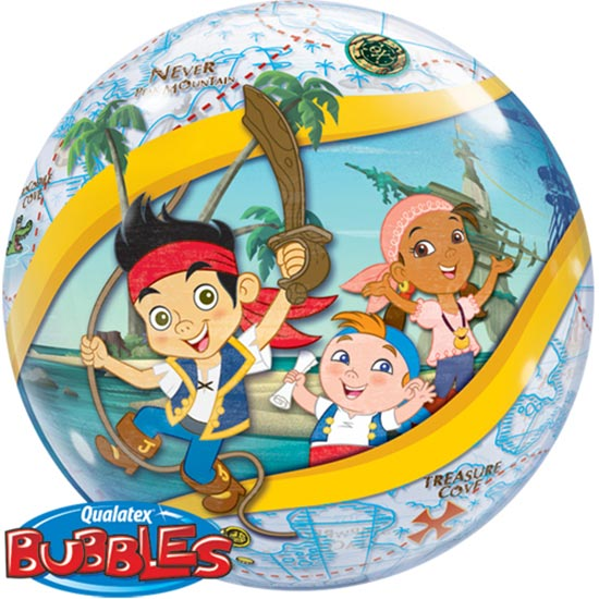 Jake and the Neverland Pirates Bubble Balloon-0