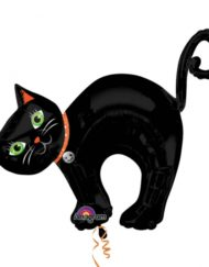 Halloween Cat SuperShape Foil Balloon-0