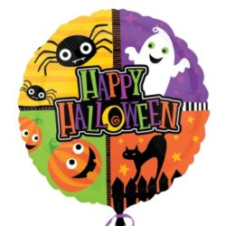 "Halloween Fun 18""/45cm Foil Balloon-0"