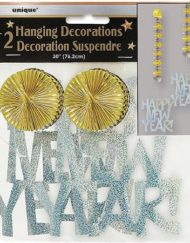 "30"" Prism Hanging New Year's Decorations,-0"