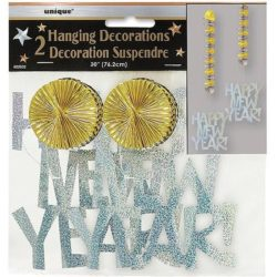 """30"""" Prism Hanging New Year's Decorations,-0"""