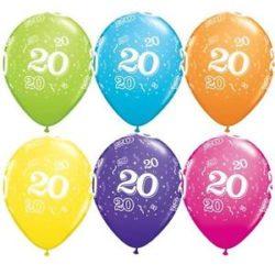 20th Latex Balloon-0