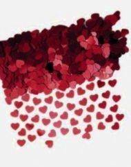RED HEART TABLE CONFETTI-0