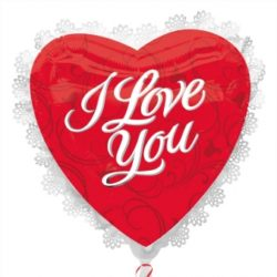I LOVE YOU FOIL BALLOON LARGE-0