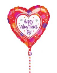 Heart Valentine's Foil Balloon -0