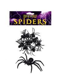 8 Plastic spiders-0