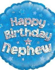 Happy Birthday Nephew Foil-0