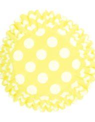 Yellow Spot Printed Baking Case-0