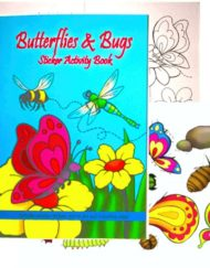 Butterfly bug Activity colouring book-0
