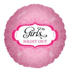 Girl's Night Out Foil Balloon -0
