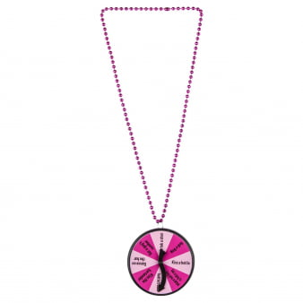 Hen Party Dare Spinner Pendant-0