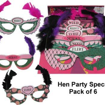 6 Hen Party Glasses-0
