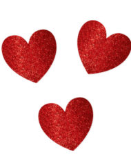 Glitter Heart Mega Value Pack Cutouts-0