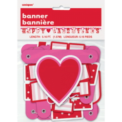Happy Valentine Jointed Banner-0