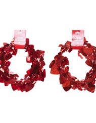 Red Heart Garland-0