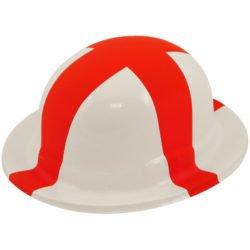 Bowler Plastic ST. George Hat-0