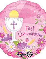 FIRST HOLY COMMUNION FOIL BALLOONS-0