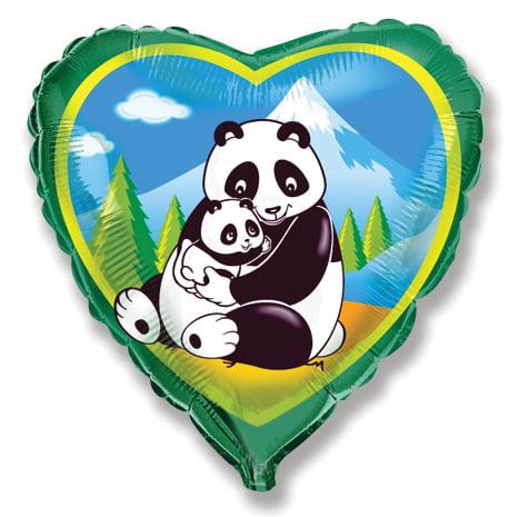 """18"""" Pandas foil Balloon-0"""