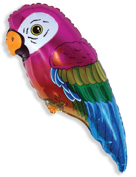 Jumbo Parrot foil balloon-0