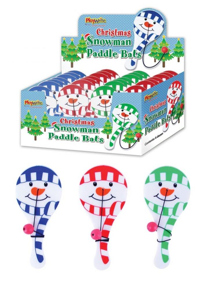Snowman Paddle Bats-0