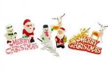 Christmas plastic motto-0